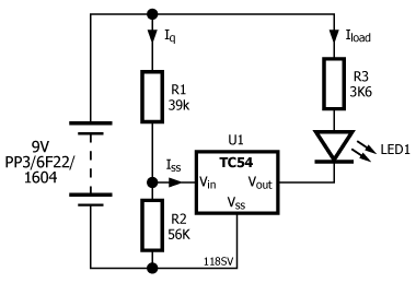 TC54 schematic with values