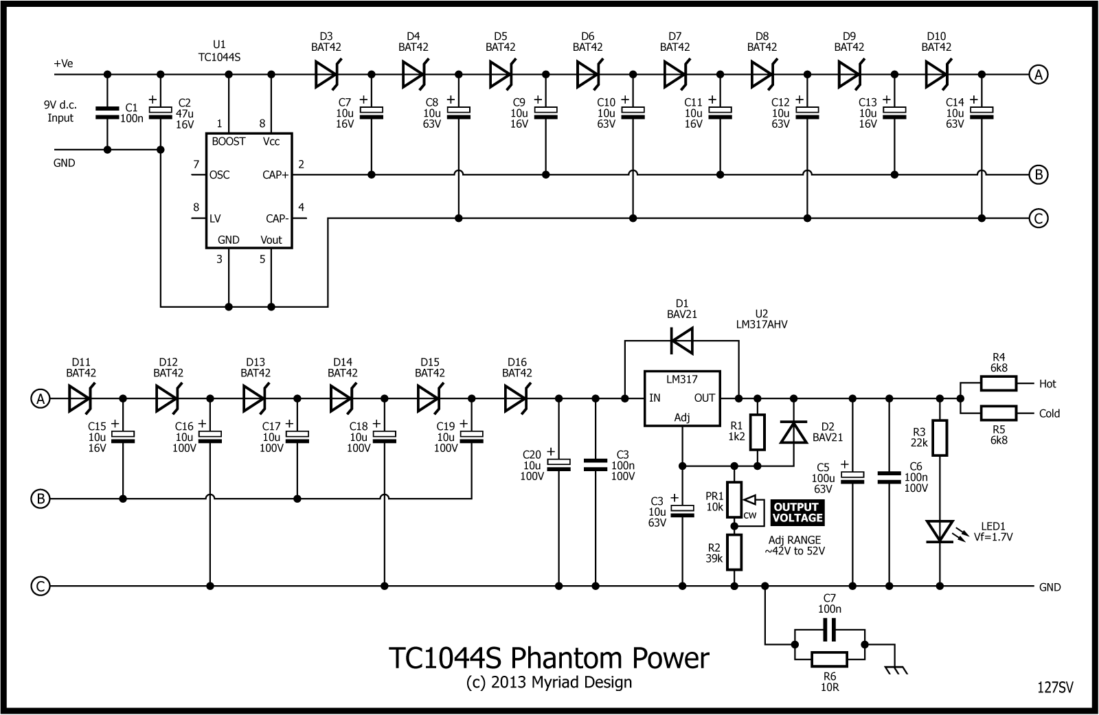 Mains Ac Dc Converter With Sr03x