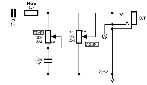 unbalanced piezo preamp volume and tone controls stompville rh stompville co uk